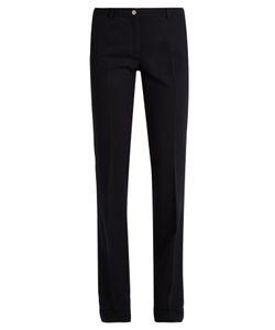 Miu Miu | High-Rise Wide-Leg Wool-Blend Trousers