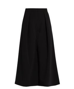 Roksanda | Devon Wide-Leg Crepe Culottes