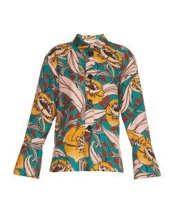 Marni | Bellwoods-Print Cotton And Linen-Blend Jacket