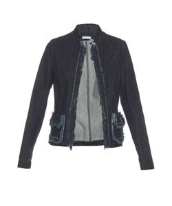 Tomas Maier | Frayed-Edge Denim Jacket