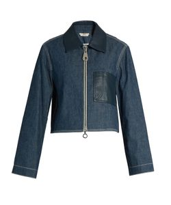 Edun | Point-Collar Patch-Pocket Jacket