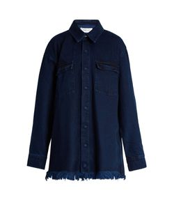 MARQUES'ALMEIDA | Frayed-Edge Denim Jacket