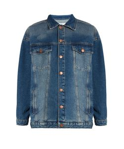 RAEY | Displaced-Sleeve Oversized Denim Jacket