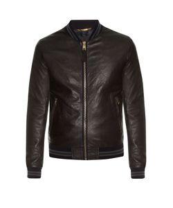 Dolce & Gabbana | Leather Bomber Jacket