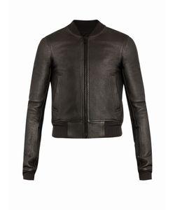 Rick Owens | Leather Bomber Jacket