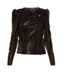 Isabel Marant | Connie Laser-Cut Leather Jacket