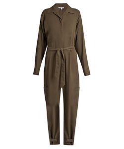 Helmut Lang | Patch Pocket Cotton Jumpsuit