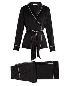 Equipment | Odette Silk-Satin Pyjama Set