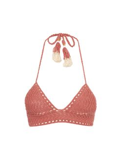She Made Me | Laharia Crochet Triangle Bikini Top