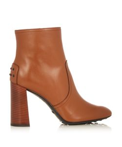 Tod's | Gomma Leather Ankle Boots