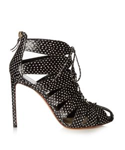 Francesco Russo | Cutaway Snakeskin Ankle Boots