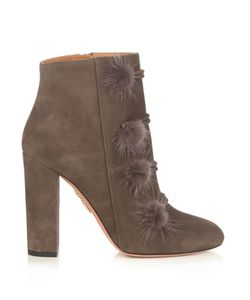 Aquazzura | Ulyana Suede Ankle Boots