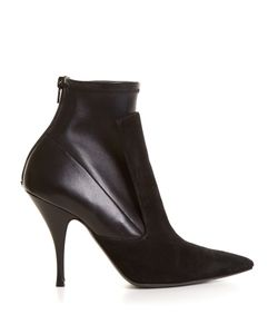 Givenchy | Kalli Suede And Leather High-Heel Ankle Boots