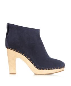 ÁLVARO | Shearling-Lined Suede Ankle Boots