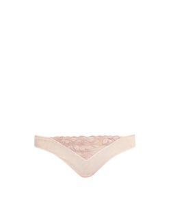 La Perla | Morgane Embroidered Tulle Briefs