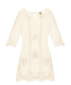 Figue | Anina Lace-Insert Cotton Kaftan