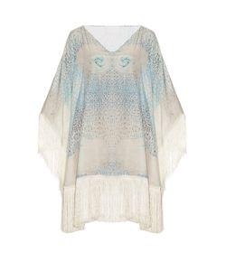 Athena Procopiou   Little Lies Cotton And Silk-Blend Kaftan