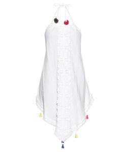 VMT   Careyes Melon Embellished Cotton Dress