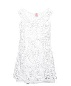 Anna Kosturova | Scoop-Neck Crochet Dress