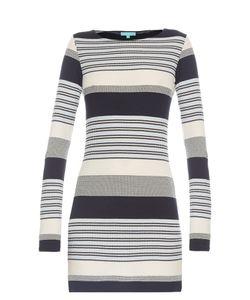 Melissa Odabash | Maddie Stripe-Knit Mini Dress