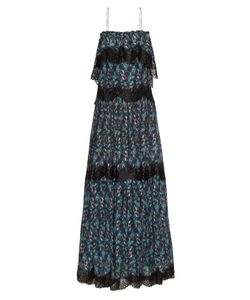 Athena Procopiou | When I Close My Eyes Lace-Trimmed Maxi Dress