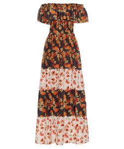 Athena Procopiou   Seven Wonders Off-The-Shoulder Dress