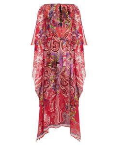 Etro   Floral Paisley-Print Silk Kaftan