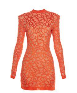 Balmain | -Effect Knit Dress