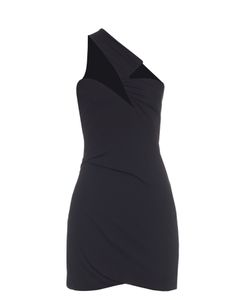 Anthony Vaccarello | One-Shouldered Stretch-Jersey Dress