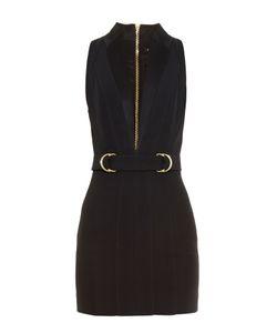 Balmain | Plunging V-Neck Mini Dress
