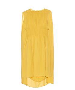 Valentino | Cape-Back Silk-Georgette Dress