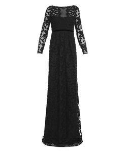 Burberry Prorsum | Floral Cotton-Blend Lace Gown