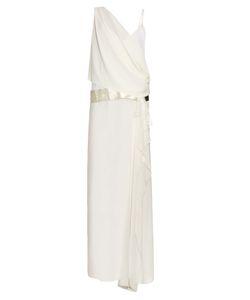 Loyd/Ford | Chiffon-Overlay Silk Maxi Dress