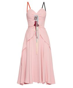 Rosie Assoulin | Holy Moley Cut-Out Cady Midi Dress