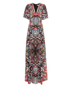 Etro | Paisley-Print Silk Maxi Dress