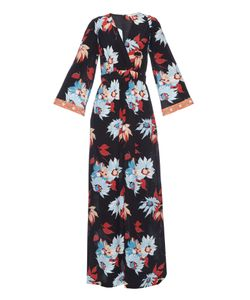 Etro | Floral-Print Silk-Crepe Maxi Dress