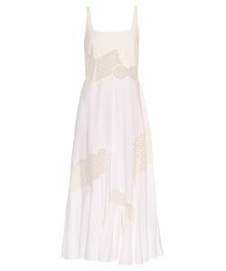 Stella McCartney | Sacha Broderie-Anglaise Panel Maxi Dress
