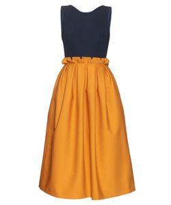 Mother Of Pearl   Lola Tie-Back Sleeveless Midi Dress