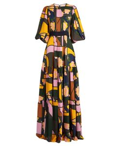 Roksanda | Aubert Floral-Print Silk-Georgette Dress