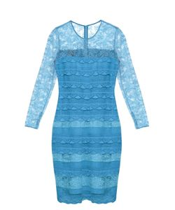Burberry Prorsum | Long-Sleeved Tiered-Lace Dress