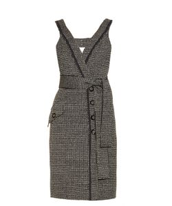Proenza Schouler | Bi-Colour Tweed Dress