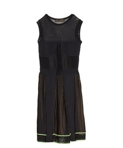 Versace | Multi-Knit Sleeveless Dress