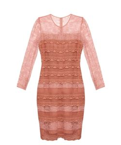 Burberry Prorsum | Tiered French-Lace Dress