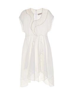 Stella McCartney | Clotilde Short-Sleeved Embroidered Dress