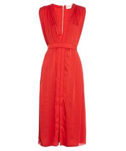 Maison Rabih Kayrouz | V-Neck Crepe Dress