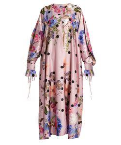Natasha Zinko | Floral-Print Satin Dress