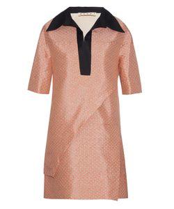 Marni | Blossom-Print Layered Tunic Dress
