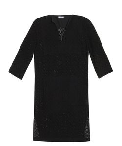 Tomas Maier | Eyelet-Cotton Tunic Dress
