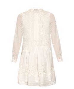 Saint Laurent | Folk Broderie-Anglaise Dress