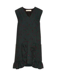 Marni | Windfall Teardrop-Print Sleeveless Dress